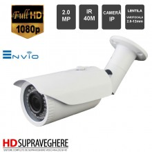 CAMERA EXTERIOR ENVIO IP , 2.0 MP, 1080P , IR 40M , IP-ZEN42W-2.0