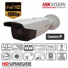 CAMERA EXTERIOR IP FULL HD, IR 30M , 3 MP HIKVISION DS-2CD2T32-I3