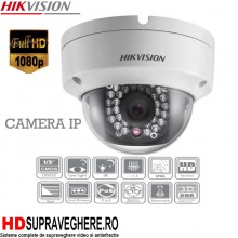 CAMERA DOME IP HIKVISION FULL HD , IR 30 M , 2.0 MP , DS-2CD2120F-I
