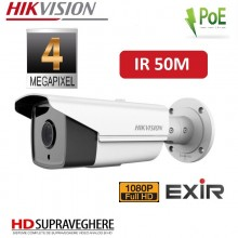 CAMERA EXTERIOR IP FULL HD, 4 MP ,IR Exire 50M , HIKVISION DS-2CD2T42WD-I5