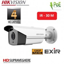 CAMERA IP EXTERIOR BULLET FULLHD 4 MP , IR 30M EXIR , HIKVISION DS-2CD2T42WD-I3