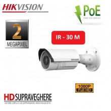 CAMERA IP 2 MP BULLET ZOOM MOTORIZAT , IR 30M HIKVISION DS-2CD2620F-IZS