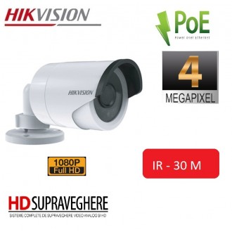 CAMERA EXTERIOR FULLHD 4 MP ,HIKVISION DS-2CD2042WD-I