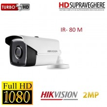 Camera bullet exterior, 2MP, FullHD 1080p , IR EXIR 80 M, HIKVISION TurboHD DS-2CE16D7T-IT5