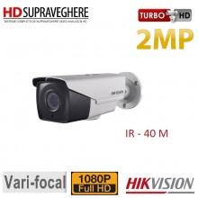 Camera bullet exterior,FullHD, 2MP, VariFocal,IR 40M,HIKVISION DS-2CE16D7T-IT3Z