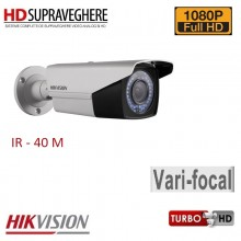 Camera bullet exterior, 2 MP,FullHD 1080p , VariFocal, IR 40M HIKVISION TurboHD DS-2CE16D5T-AIR3ZH