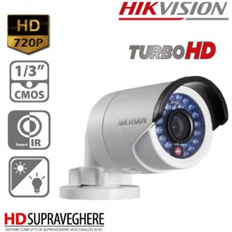 Camera Exterior HDTVI 720P ,HikVision TurboHD DS-2CE16COT-IRP