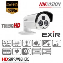 CAMERA SUPRAVEGHERE EXTERIOR HDTVI 1080P IR80M, HIKVISION TURBO HD DS-2CE16D5T-IT5