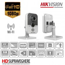 CAMERA WIRELESS INTERIOR , FULL HD 3MP , HIKVISION DS-2CD2432F-IW
