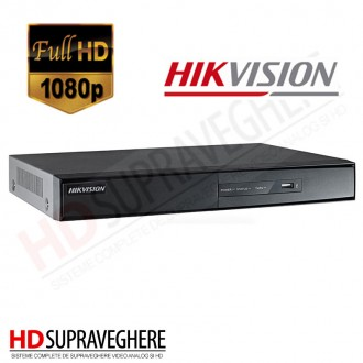 NVR 8 CAMERE IP 720p / 1080p HIKVISION DS-7604NI-E1/A