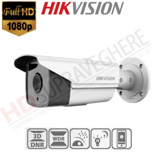 CAMERA IP EXTERIOR BULLET FULLHD 4 MP , IR 80M EXIR ,HIKVISION DS-2CD2T42WD-I8