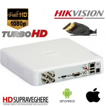 Kit supraveghere complet 2 camere Bullet si 2 camere DOME , FULL HD 1080P Hikvision