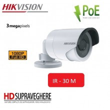 CAMERA IP EXTERIOR FULLHD 3MP, IR 30M,HIKVISION DS-2CD2032F-I