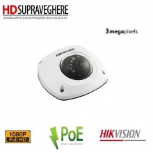 CAMERA IP mini DOME INTERIOR FULL HD 3.0MP HIKVISION DS-2CD2532F-I