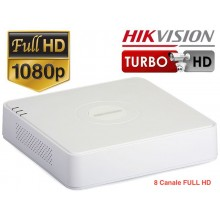 DVR HDTVI /AHD HIKVISION 8 canale 720P / 1080P , DS-7108HQHI-F1/N
