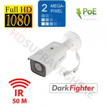 Camera IP FullHD, 2MP, WDR, BLC, DNR, IR EXIR 50m, day&night, Hikvision Darkfighter DS-2CD2T26G1-2I