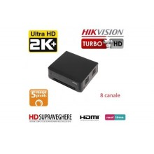 DVR HDTVI, 8 canale, UltraHD, 5.0MP, HIKVISION TurboHD DS-7208HUHI-K1