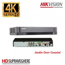 DVR HIKVISION, 4 canale , 5 Megapixel, Audio Over Coaxial, Turbo HD 4.0 DS-7204HUHI-K1/E