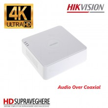 DVR HIKVISION, 4 Canale, 5 Megapixel,UltraHD Turbo HD 4.0 DS-7104HUHI-K1(S)